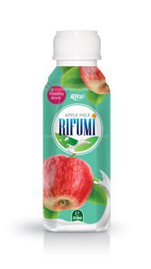 310ml PP bottle Apple Milk