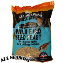 All Seasons Wild Bird Seed Feast: 12.5kg