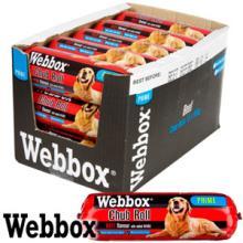 Webbox Prime Beef Chub Rolls (Case of 15)
