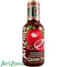 AriZona Pomegranate Green Tea (Case of 6 Bottles)
