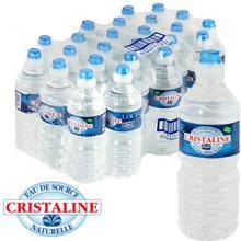 Cristaline Natural Spring Water (24 x 500ml Bottles)