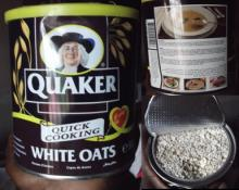 Delicisoud Easy cooking QUAKER OATS