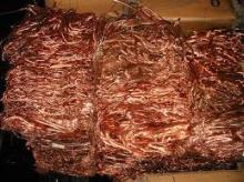 new 2016 Copper Wire Millberry Scrap 99.99% purity for sale