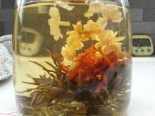 Gomphrena Globosa blooming tea