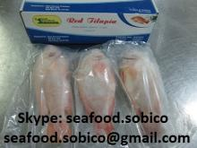FROZEN RED TILAPIA GUTTED, SCALED cheap price. Skype: seafood.sobico