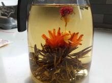 Blooming tea for slimming