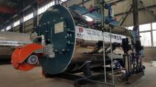 fire tube 10 ton gas fired steam boiler
