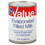Filled Evaporated Milk