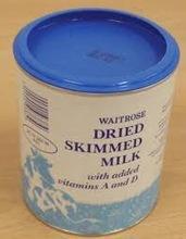 Dry skimmed milk