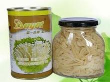 Canned golden needle mushroom