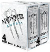 MONSTER ULTRA ZERO (4PK 16 OZ)