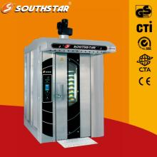 new design and technology 16 trays rotary oven with low energy cost