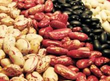 Beans of different types (All Dried). Red beans / Kidney beans/ black beans /
