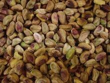 Raw pistachio nut