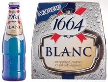 French Kronenbourg beer 1664 Blanc