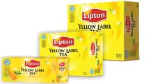 LIPTON Yellow Label Tea 100bags/box, 2gsm/bag