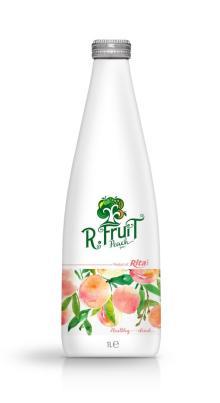 1L Glass bottle Peach Juice