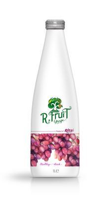 1L Glass bottle Grape Juice