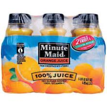 100% orange fruit juice