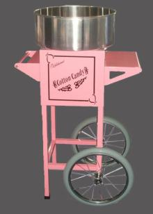 Small Business Using Electric Cotton Candy Machine
