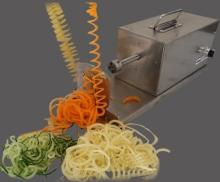 spiral potato  cutter  / tornado potato  cutter  /  twist ed chips machine
