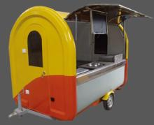 Multifunction mobile food truck burger/prefab restaurant hand push food cart