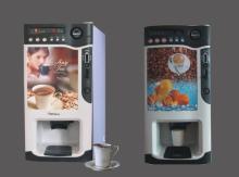 automatic instant tea/latte/mocha coffee vending machine