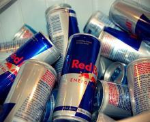 Austria Original Bulls Energy Drink 250 Ml Red/Blue/Silver.