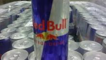 R.E.D.... Bull Energy Drink Red / Blue / Silver...