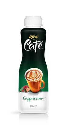 350ml PP bottle Cappuccino Coffee Drink