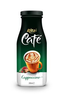 280ml Glass bottle Cappuccino Coffee Drink