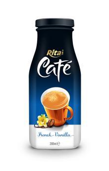 280ml Glass bottle French Vanilla Coffee Drink