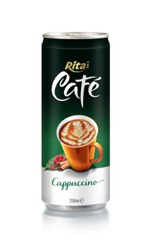 250ml aluminum can Cappuccino Coffee drink