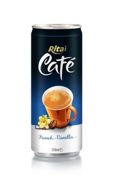 250ml aluminum can French Vanilla Coffee drink