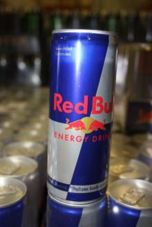Red bulled energy drink from austria