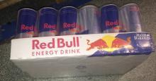 Austrian Origin Red Bull Energy Drink