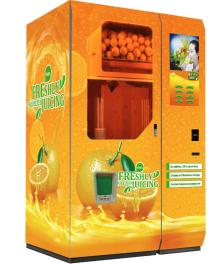 Automatic Fresh Orange Juice Vending Machine