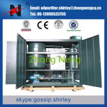 Turbine Oil Purifier Oil Recycling Machine Series TY