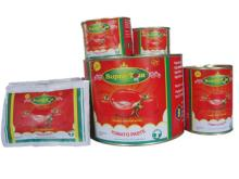 Top grade for exporting tomato paste