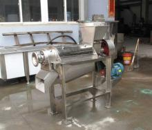 stainless steel screw fruit juice extracting  machine  for carrot apple ginger