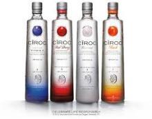 Fresh Stocks Ciroc - Vodka - Luxury French Vodka 750ML Bottle