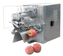 Apple peeling and coring machine