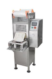 Vertical automatic fast food box sealing machine