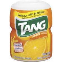 Tang Orange Juice.