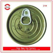 Montana tin free steel material lids for tuna fish