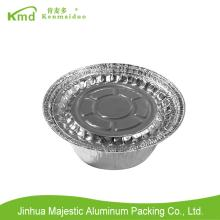 CUG183 Aluminum Foil Round  Container  With Lid