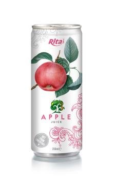 250ml aluminum can Apple Juice