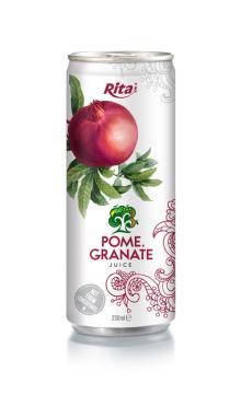 250ml aluminum can Pomegranate Juice
