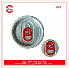Hot sale Aluminium soda drinks can easy open lid manufacturer