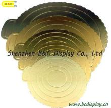 Corrugated Cake Board, Embossed Cake Boards, Die Cut Cake Board with SGS (B&C-KA001)